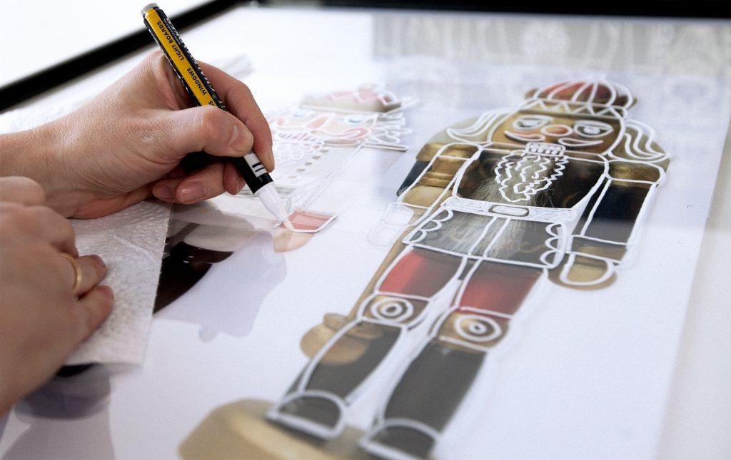gro z gig tafel malen auf bilderrahmen glas zeitgen ssisch bilderrahmen ideen. Black Bedroom Furniture Sets. Home Design Ideas